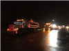 Lighted Dump Trucks
