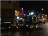 Lighted Tractor on Trailer