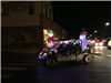 Lighted Vehicle with Grinch side view