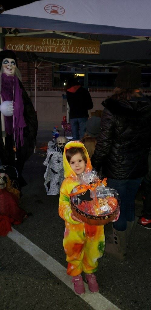 Young Child Costume Winner