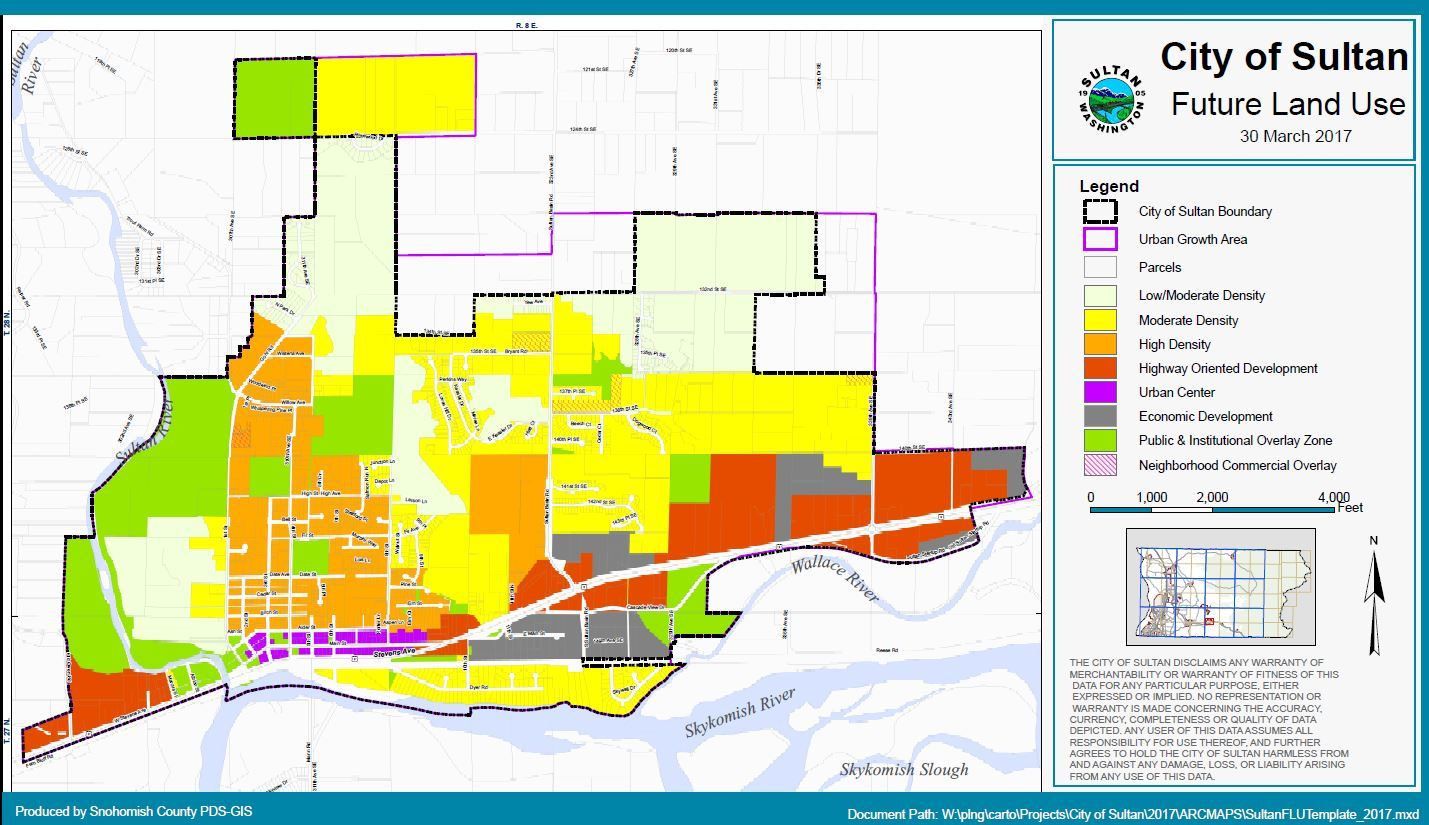 City of Sultan Future Land Use Map (PDF)
